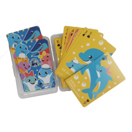 主題海洋系列撲克牌