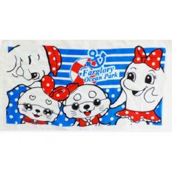吉祥物水手風毛巾