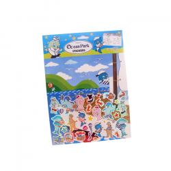 水手吉祥物遊戲貼紙