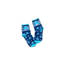 ANDY海軍風中筒襪