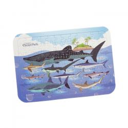 鯊魚圖鑑拼圖96片